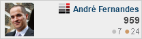 profile for André Fernandes at Server Fault, Q&A for professional system and network administrators