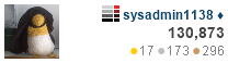profile for sysadmin1138 at Server Fault, Q&A for system administrators and desktop support professionals